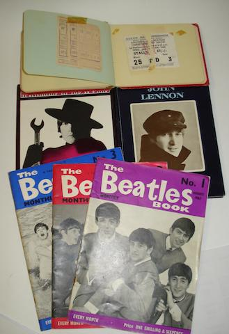 Brian Epstein's autograph and other Beatles memorabilia, 1960s,