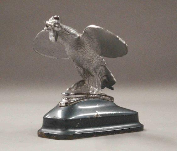 A Singer Bantam Cockerel mascot, 1930s,