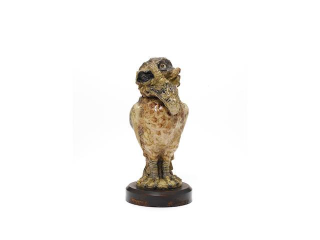 Robert Wallace Martin a large grotesque stoneware Bird, 1885