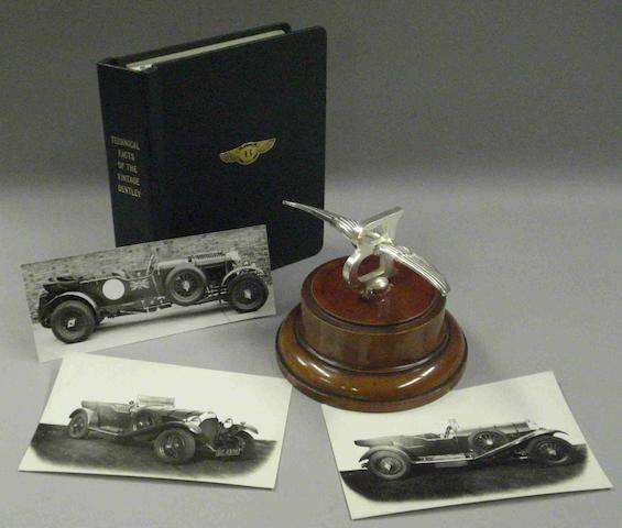 An 8 litre Bentley mascot,