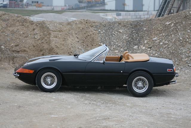 Ex-Mel Blanc, the voice of Bugs Bunny,1972 Ferrari 365GTB/4 'Daytona' Spyder Conversion  Chassis no. 14995