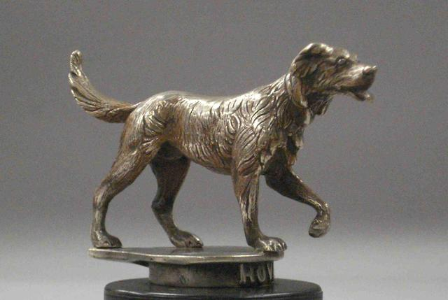 A Red Setter mascot, for Rover Cars, 1920s,
