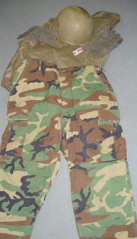 A military uniform from 'Die Another Day', 2002,