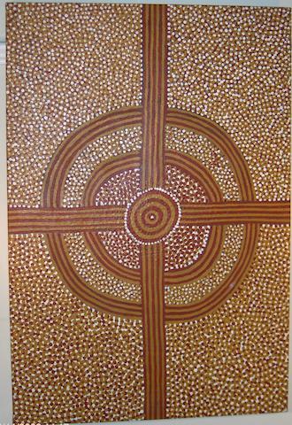 Ray James Tjangala, UNTITLED, c. 1996 60 x 90cm