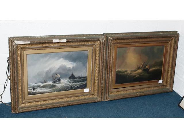 John H. Bland (British) 29cm x 44cm, a pair