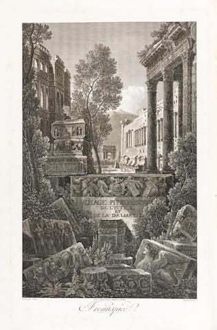 CASSAS (LOUIS FRANÇOIS) and JOSEPH DE LAVALLÉE Voyage pittoresque et historique de l'Istrie et Dalma