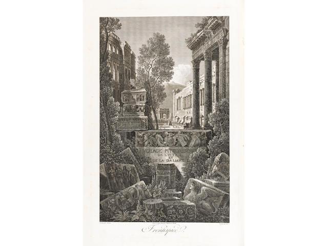 CASSAS (LOUIS FRANÇOIS) and JOSEPH DE LAVALLÉE Voyage pittoresque et historique de l'Istrie et Dalmatie, rédigé