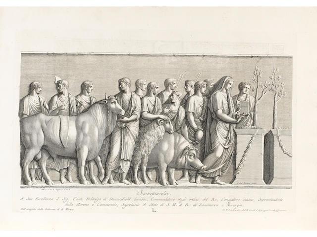 ZANETTI (ANTONIO MARIA, elder and younger) Delle antiche statue Grechie, e Romane, che nell'antisala
