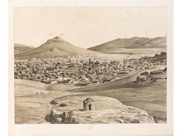 STADEMANN (FERDINAND) Panorama von Athen