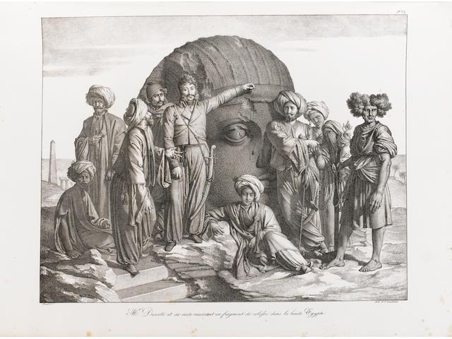 FORBIN (LOUIS PHILIPPE AUGUSTE, comte de) Voyage dans le Levant, one vol. in 2