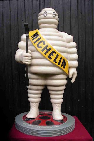 A Mr Bibendum forecourt figure,