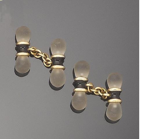 A collection of six pairs of cufflinks