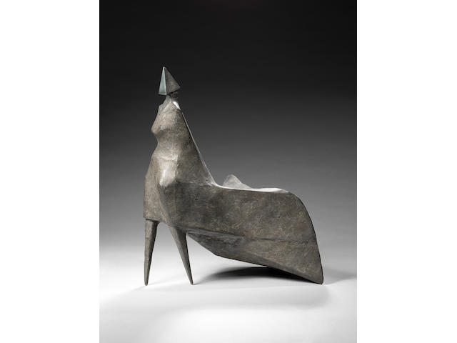 Lynn Chadwick CBE (British, 1914-2003) Maquette I Walking Woman 1983 42 cm. (16 1/2 in.) high