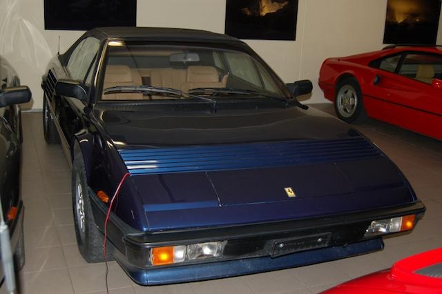 The property of a deceased's estate,1984 Ferrari Mondial Qv Cabriolet  Chassis no. ZFFLC15B000050893 Engine no. F105A01876