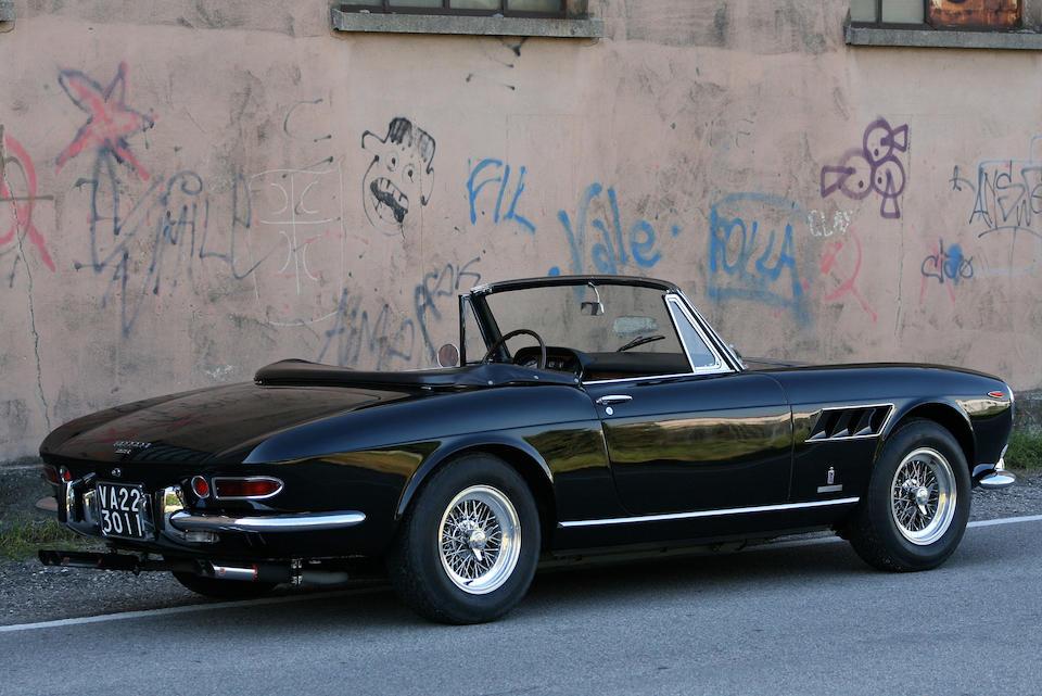 With Ferrari Certification,1965 Ferrari 275GTS Spider  Chassis no. 06819 Engine no. 06819