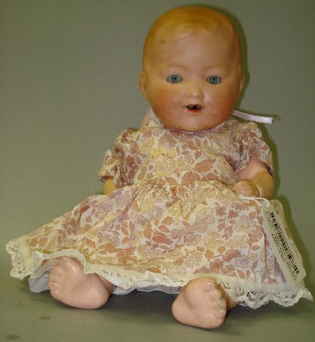 A.M 352 bisque head baby lot