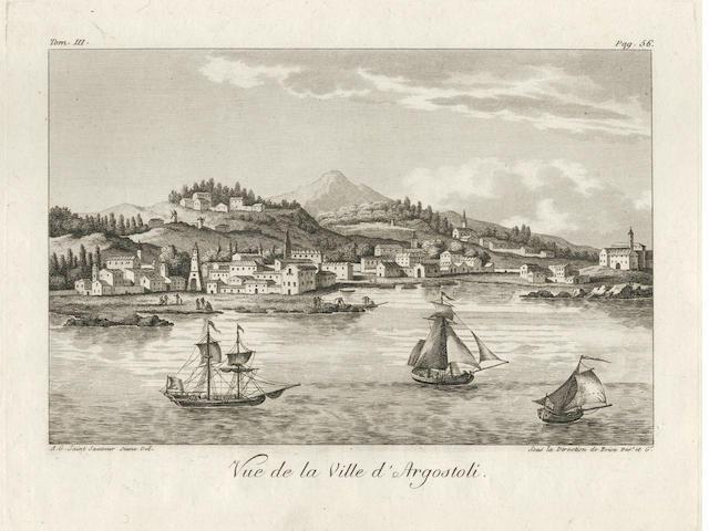 GRASSET DE SAINT-SAUVEUR (ANDRÉ) Voyage historique, littéraire et pittoresque dans les isle et posse