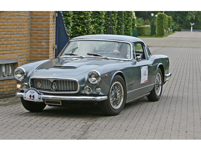 1961 Maserati 3500GT Vignale Spyder  Chassis no. AM 101.1319 Engine no. AM 101.1319