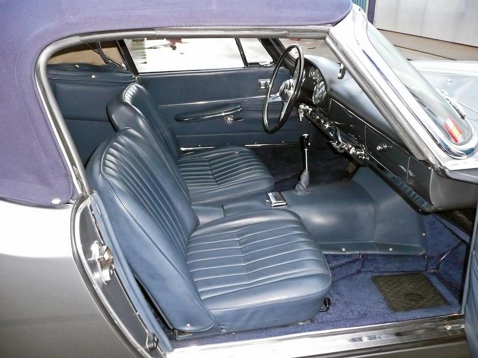 1961 Maserati 3500GT Vignale Spyder  Chassis no. AM 101.1319 Engine no. AM 101.1319