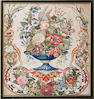 A collection of Victorian needlework and beadwork