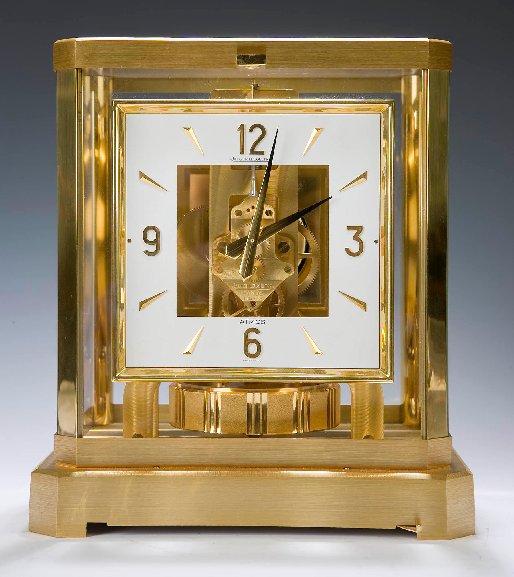 JAEGER LE COULTRE ATMOS CLOCK NEW REMOVEABLE 528-8 STANDARD FRONT GLASS