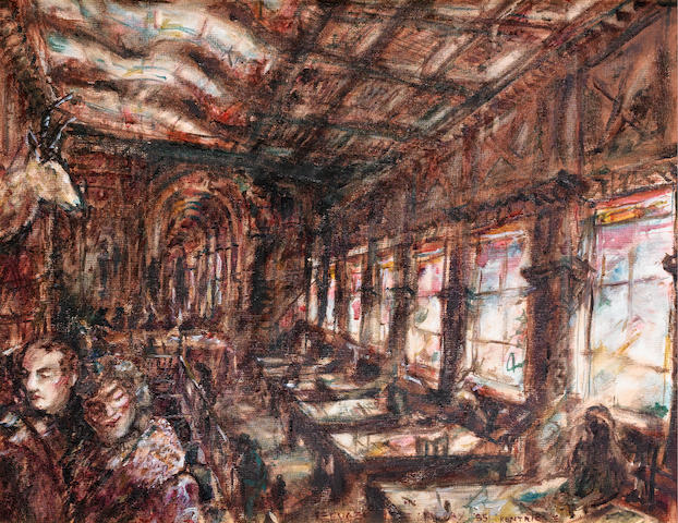 William Joseph Kentridge (South African, born 1955) Refuge in the library