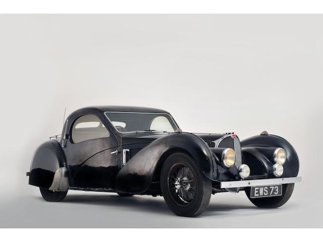 1937 BUGATTI T57S Atalante