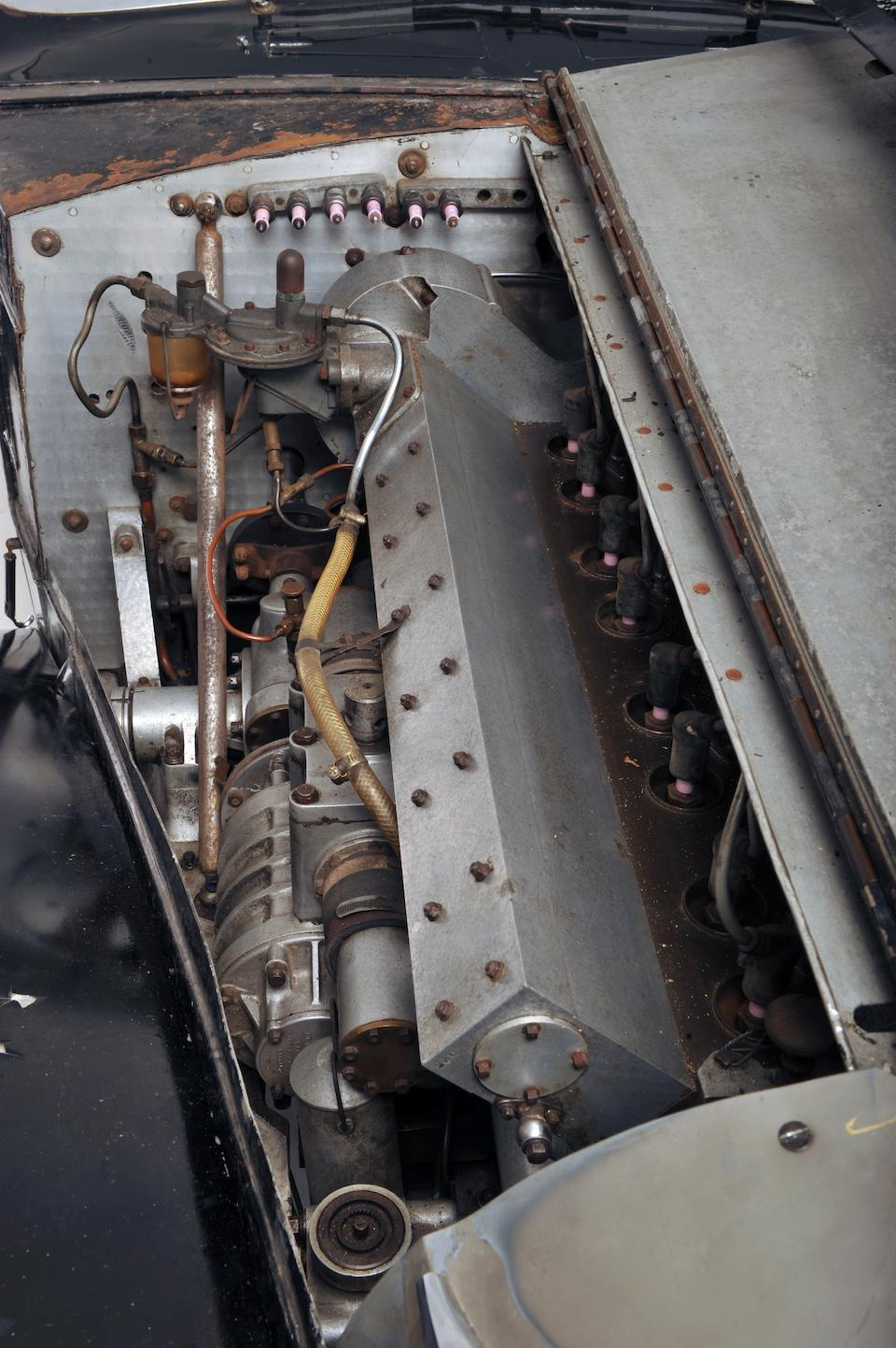 Originally the property of Francis Curzon, The 5th Earl Howe, CBE, PC, VD.,1937 Bugatti Type 57S Atalante Coupé  Chassis no. 57502 Engine no. 26S