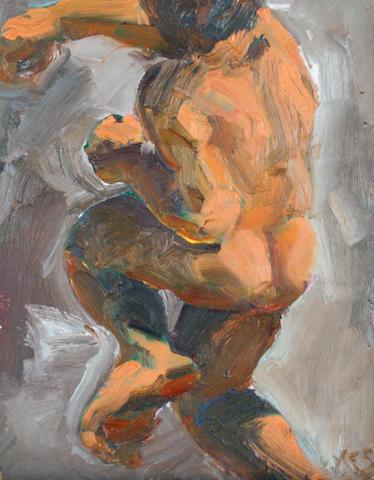 Kevin Sinnott (British, born 1947) The Elder, 1987