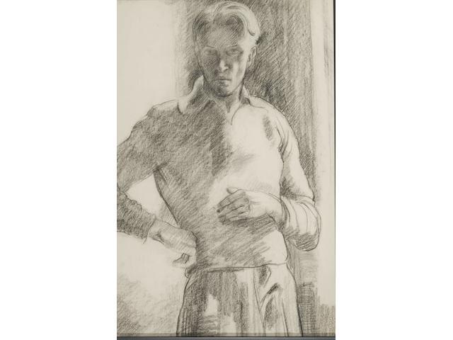 Francois Krige (South African, 1913-1994) Self portrait