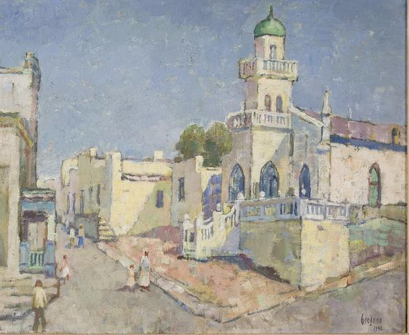 Gregoire Johannes Boonzaier (South African, 1909-2005) The White Mosque, Cape Town