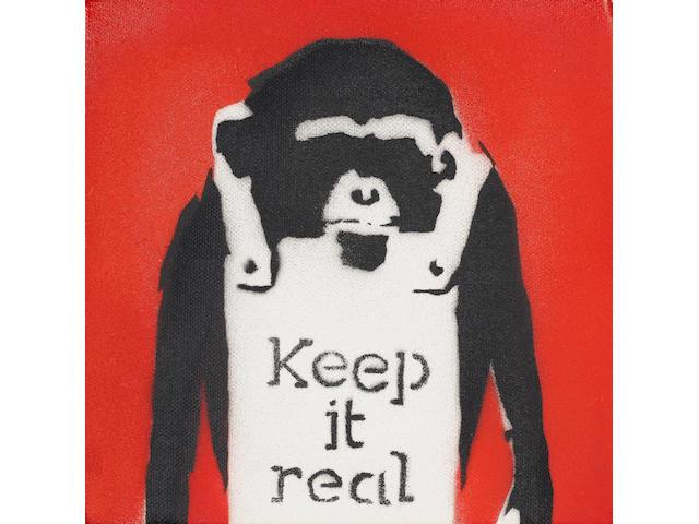 Banksy (British, born 1975) 'Keep It Real', 2002