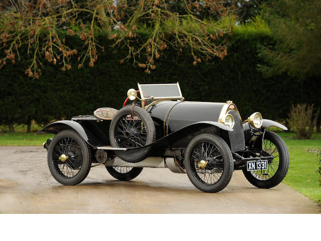 'Black Bess' - The ex-Roland Garros/Louis Coatalen/Colonel Giles/Peter Hampton. 1913 5-litre Bugatti Type 18 Sports Two-Seater.,1913 Bugatti Type 18  Chassis no. 474