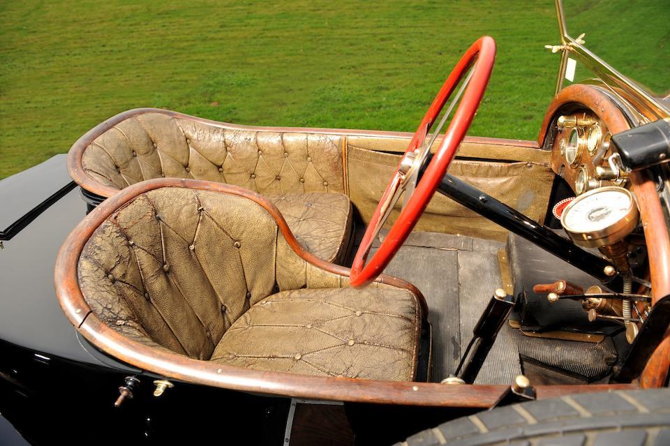 'Black Bess' - The ex-Roland Garros/Louis Coatalen/Colonel Giles/Peter Hampton. 1913 5-litre Bugatti Type 18 Sports Two-Seater.,1913 Bugatti Type 18 5-litre Sports Two-seater  Chassis no. 474 Engine no. 474