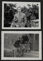 A Second World War D.F.C. group of five to Flight Lieutenant J.E.P.Oxborrow, Royal Air Force,