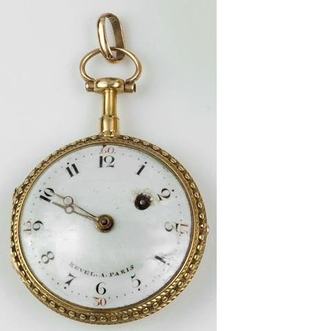 Revel a Paris: A gold fob watch