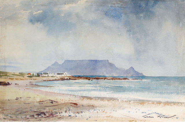 Terence John McCaw (South African, 1913-1978) Table Mountain