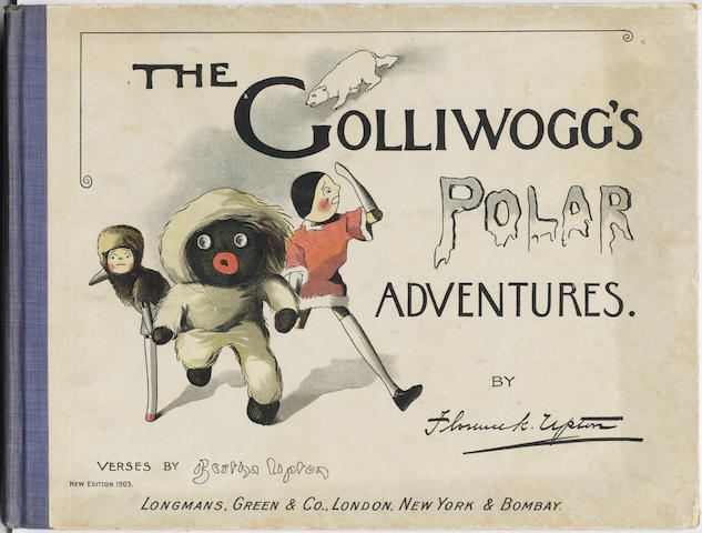 UPTON (BERTHA and FLORENCE K.) The Golliwogg's Polar Adventures