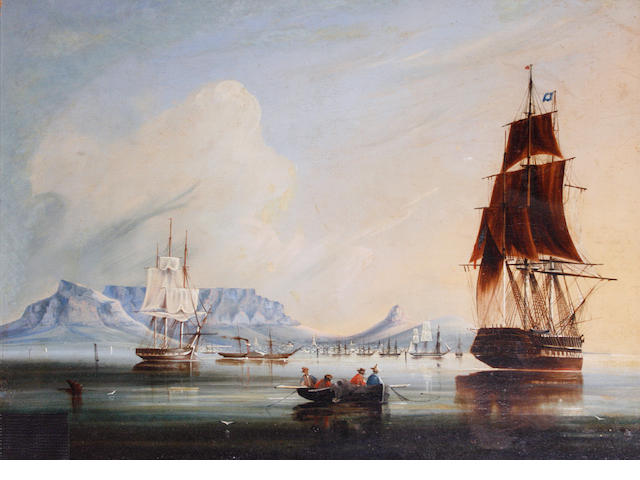 William Syme British/South African Table Bay Cape Town