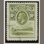 Basutuland: 1933-49: A used collection on leaves with 1933 set, 1938 set, commemoratives, etc. (865)