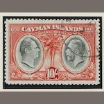 Cayman Islands: 1932: Centenary set used (some with Madame Joseph forged c.d.s.) (891)