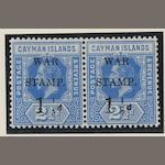 Cayman Islands: 1917-20: War stamps mint selection inc. 1917 (Sept) type 16, etc. (898)