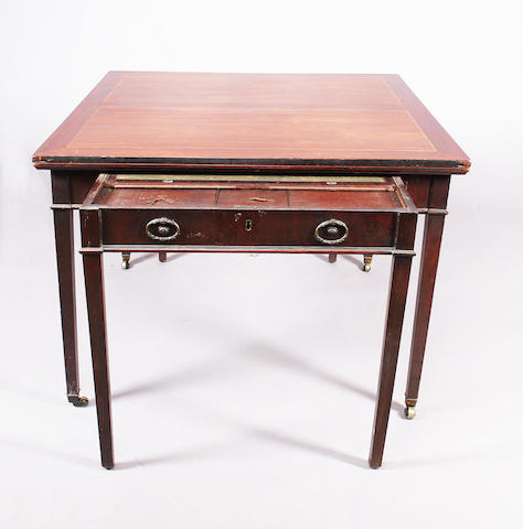 A George III Universal Table after a design by Thomas Sheraton