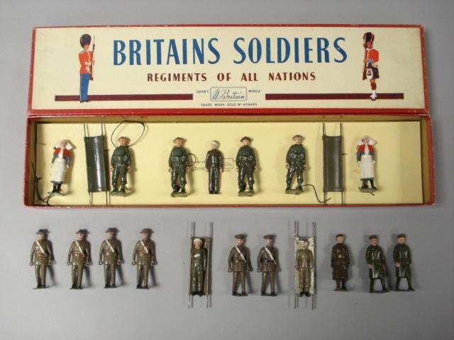 Britains Royal Army Medical Corps in Khaki 22