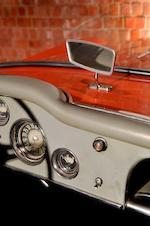 """1958 ALFA ROMEO 1900 GHIA AIGLE """"Boat Car"""""""