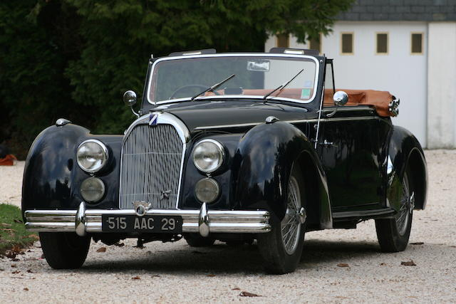 1950 TALBOT LAGO T26,1950 Talbot-Lago T26 Record Cabriolet  Chassis no. 100 008