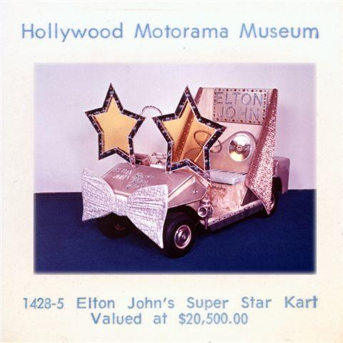 1970s Barris Electric Elton John Runabout