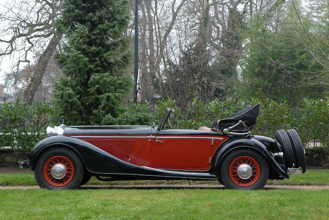 1934 Mercedes-Benz 290 Cabriolet,