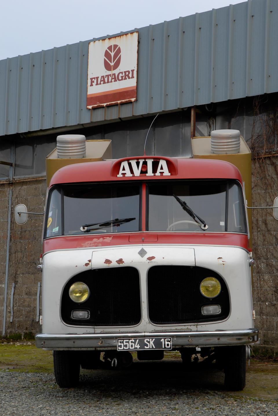 """1958 Renault 1000 kg """"Avia Motor Oil"""""""