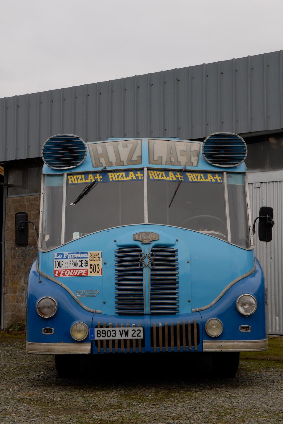 "1959 Delahaye Merk Moteur Perkins ""Rizla +"""